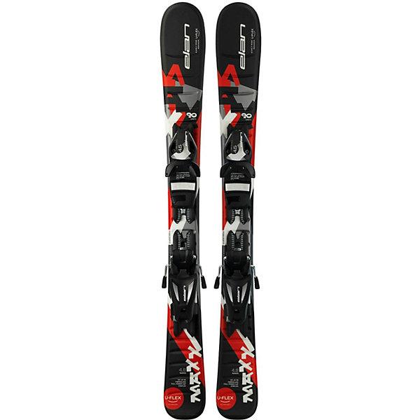 Elan Горные лыжи с креплениями Elan Maxx, 90 см цена