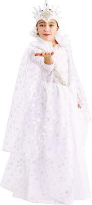 Карнавальный костюм  Снежная королева , Пуговка, артикул:9384015 - Детские карнавальные костюмы и аксессуары