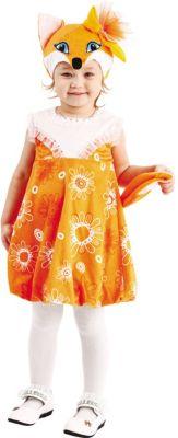 Карнавальный костюм  Лиса Алоська , Пуговка, артикул:9384029 - Детские карнавальные костюмы и аксессуары