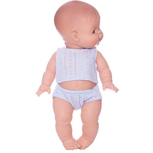 Paola Reina Кукла Paola Reina Горди в нижнем белье, 34 см, мальчик paola reina кукла вики 47 см paola reina