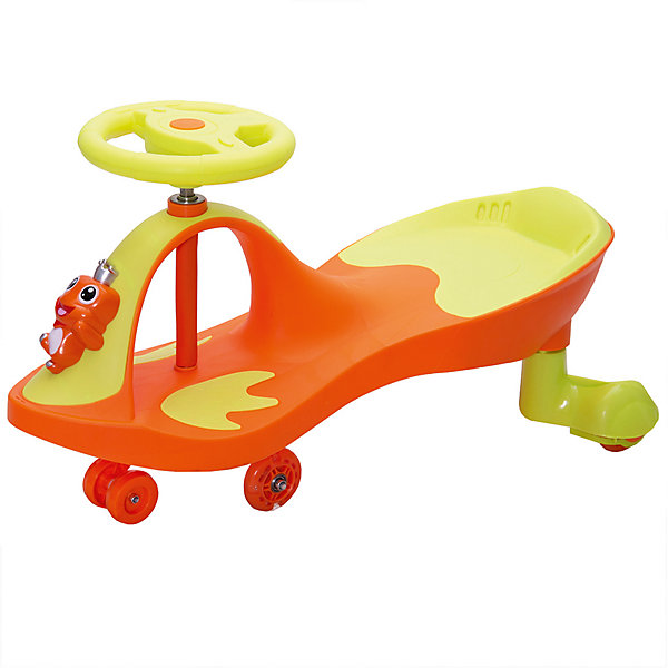 Машинка Bradex  «Бибикар-Лягушонок», оранжевый
