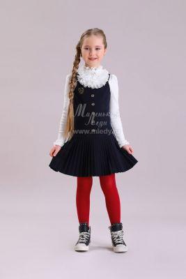 Сарафан Маленькая Леди для девочки, артикул:9384290 - Школьная форма
