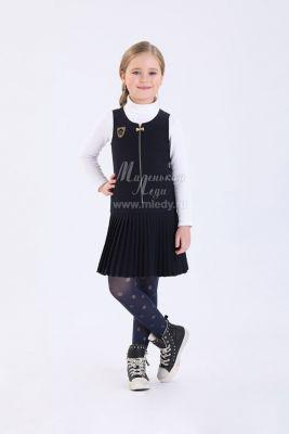 Сарафан Маленькая Леди для девочки, артикул:9384307 - Школьная форма