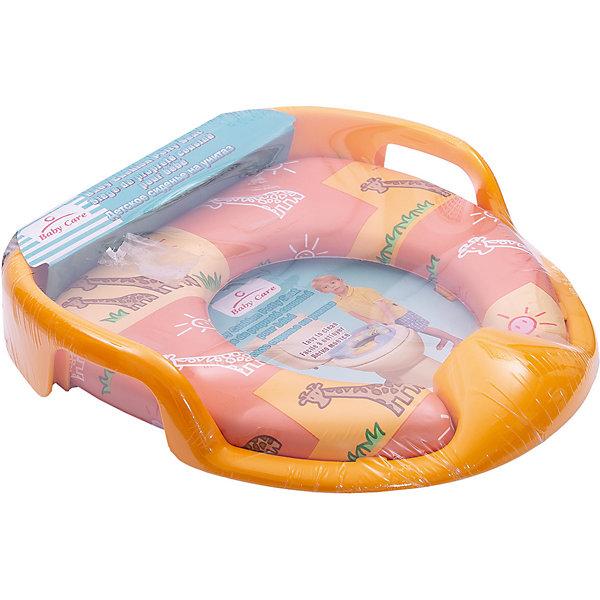 Купить Сиденье для унитаза Baby Care РМ 2399, желтое, Китай, желтый, Унисекс