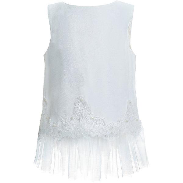 Gulliver Блузка Gulliver для девочки блузка для девочки nota bene цвет молочный 18123051117 размер 158