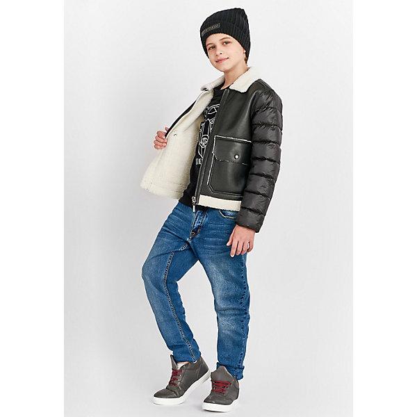 Купить Куртка Gulliver для мальчика, Китай, черный, 158, 152, 146, 164, Мужской