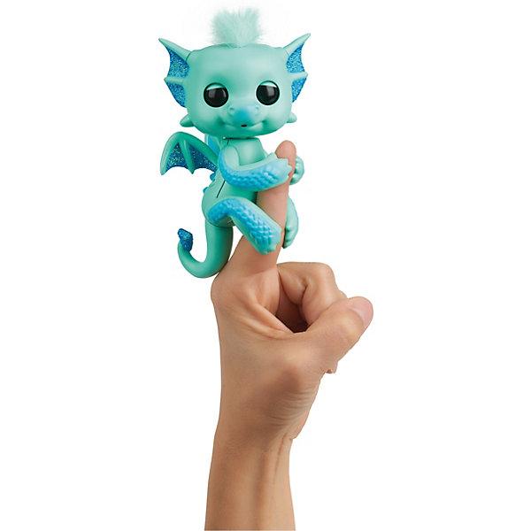 WowWee Интерактивный дракон Fingerlings Ноа, 12 см интерактивный дракон калин 12 см