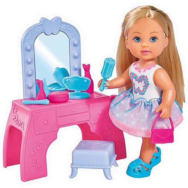 Simba Набор с куклой Simba Еви с туалетным столиком simba simba набор доктора в пластиковом чемодане