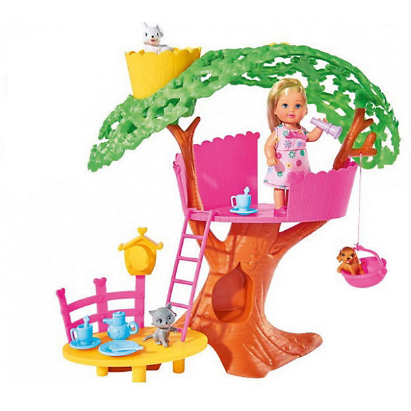 Simba Набор с куклой Еви Simba Домик на дереве simba simba игровой набор домик миши с фигуркой и аксессуарами