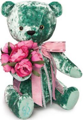 Мягкая игрушка Budi Basa Медведь БернАрт изумрудный, 28 см, артикул:9396356 - Мягкие игрушки