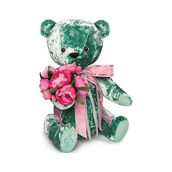 Budi Basa Мягкая игрушка Budi Basa Медведь БернАрт, изумрудный, 30 см