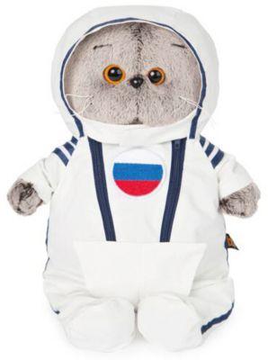 Мягкая игрушка Budi Basa Кот Басик в костюме космонавта, 25 см, артикул:9396362 - Мягкие игрушки
