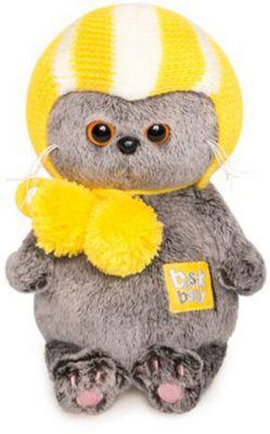 Мягкая игрушка Budi Basa Кот Басик Baby в спортивной шапке, 20 см, артикул:9396364 - Мягкие игрушки