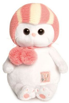 Мягкая игрушка Budi Basa Кошечка Ли-Ли Baby в спортивной шапке, 20 см, артикул:9396366 - Мягкие игрушки