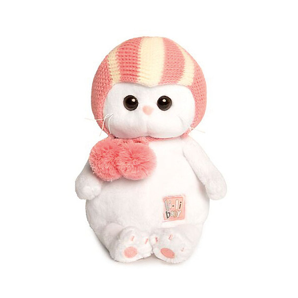 Budi Basa Мягкая игрушка Budi Basa Кошечка Ли-Ли Baby в спортивной шапке, 20 см