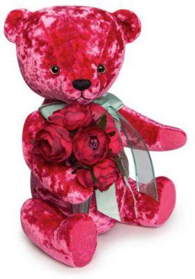Мягкая игрушка Budi Basa Медведь БернАрт розовый, 28 см, артикул:9396371 - Мягкие игрушки