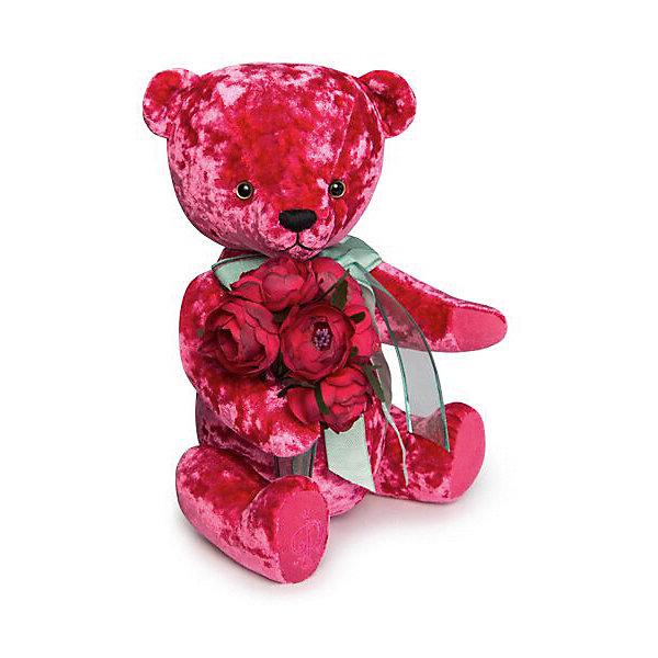 Купить Мягкая игрушка Budi Basa Медведь БернАрт, 28 см, Мягкая игрушка Budi Basa Медведь БернАрт розовый, Россия, Унисекс