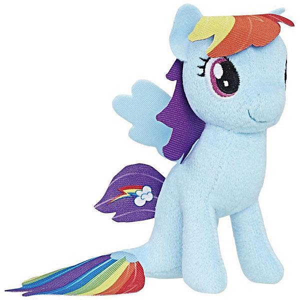 Hasbro Мягкая игрушка My little Pony Подводные пони Рэйнбоу Дэш, 13 см