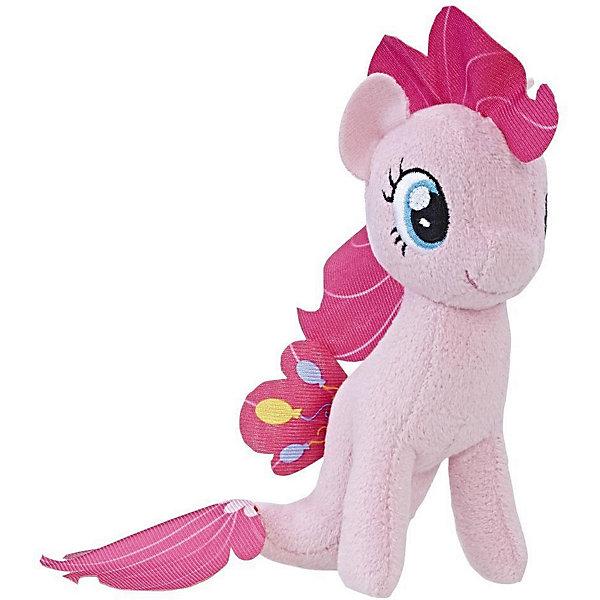 Hasbro Мягкая игрушка My little Pony Подводные пони Пинки Пай, 13 см hasbro мягкая игрушка hasbro my little pony маленькие плюшевые пони трикси луламун 13 см