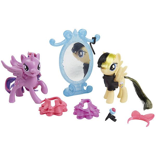 Hasbro Игровой набор My little Pony Уроки дружбы Твайлайт Спарк (Искорка) и Серенада игровые фигурки guidecraft игровые фигурки better builders набор профессии
