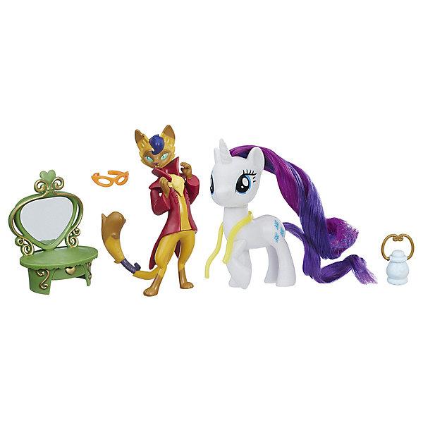 Купить Игровой набор My little Pony Уроки дружбы Рарити и Хитрый Хвост, Hasbro, Китай, Женский