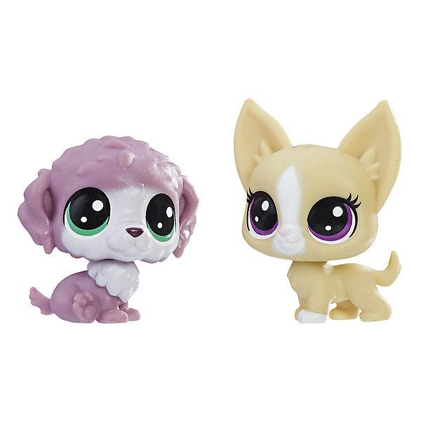 Купить Набор игровых фигурок Littlest Pet Shop, Chunky Waterfluff & Mayor Perrito, Hasbro, Китай, Женский