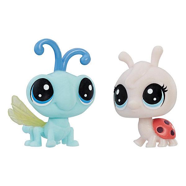 Купить Набор игровых фигурок Littlest Pet Shop, Lynette Lafyfly & Cy Flydragon, Hasbro, Китай, Женский