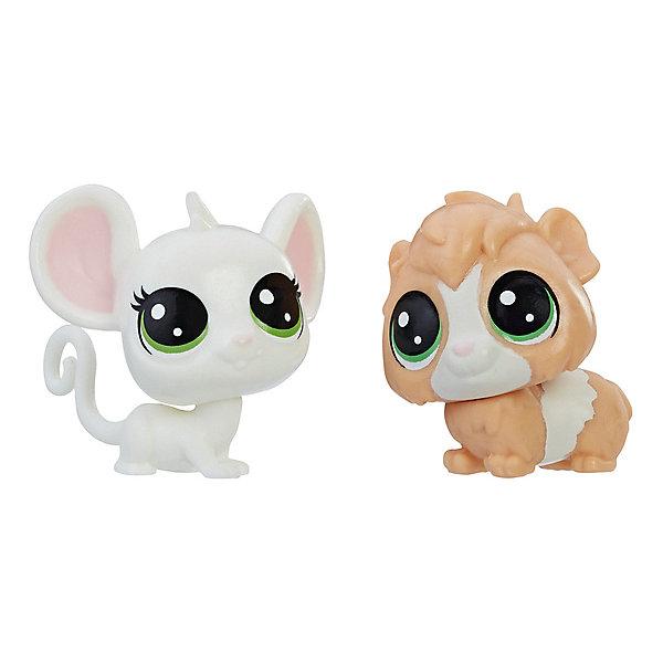 Купить Набор игровых фигурок Littlest Pet Shop, Zoe Housemouse & Guinsey Pigson, Hasbro, Китай, Женский