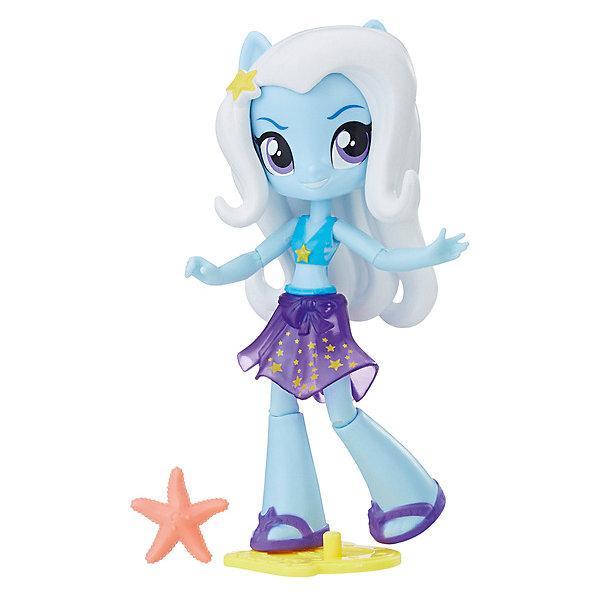 Купить Мини-кукла Equestria Girls Пляж Трикси, 11 см, Hasbro, Вьетнам, Женский