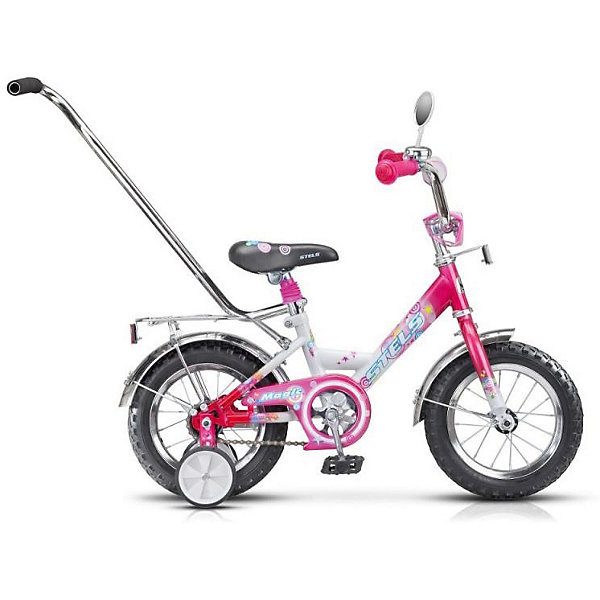 Stels Детский велосипед Stels Magic 12 (2015) 8, розово-белый