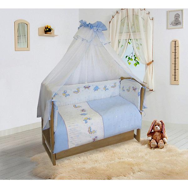 Soni Kids Бортик в кроватку Ласковое лето , на молниях