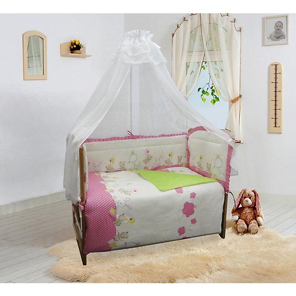 Soni Kids Бортик в кроватку Soni Kids В уютных облачках soni kids комплект постельного белья из 6 предметов soni kids сладкие мечты