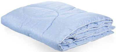 Одеяло Soni Kids  Сердечки голубые , артикул:9452919 - Детский текстиль