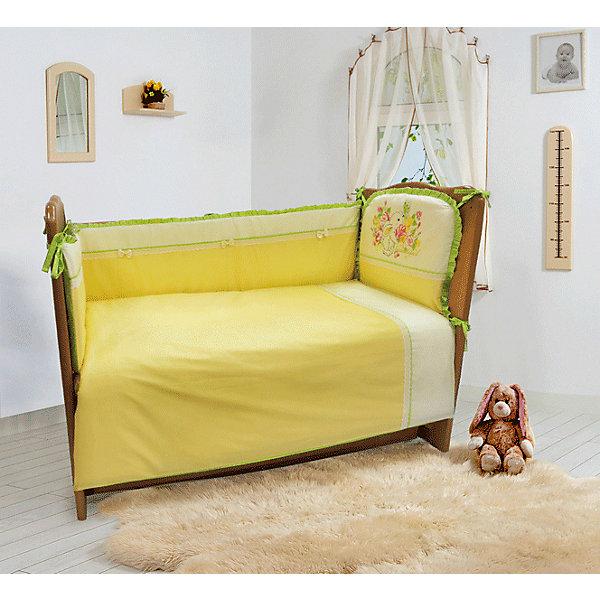 Soni Kids Комплект постельного белья из 6 предметов Мой садик салатовый