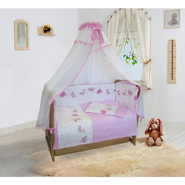 Soni Kids Бортик в кроватку Soni Kids Ласковое лето , на молниях soni kids комплект на выписку для девочки soni kids