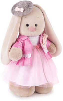 Мягкая игрушка Budi Basa Зайка Ми  Розовый бутон , 32 см, артикул:9454724 - Мягкие игрушки