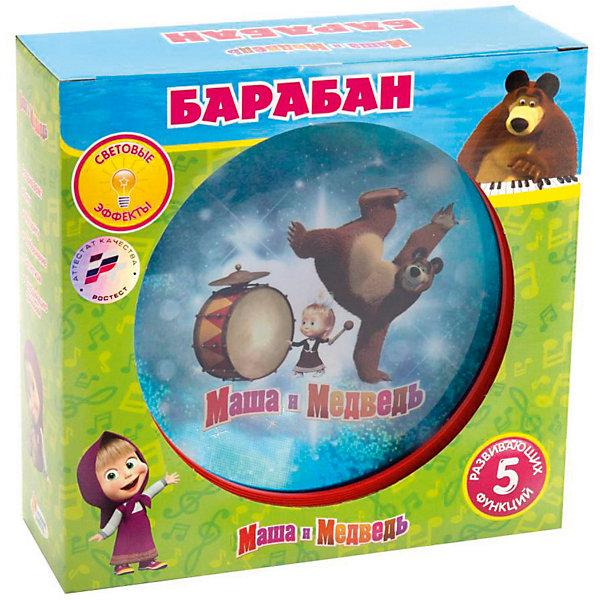 Играем вместе Барабан Играем вместе Маша и медведь со светом играем вместе музыкальный барабан маша и медведь со светом и звуком 3 песни