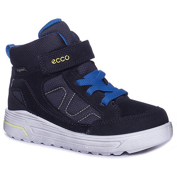 Купить Утепленные ботинки ECCO, Китай, черный, 32, 28, 30, 29, 31, 34, 33, 35, 27, Унисекс