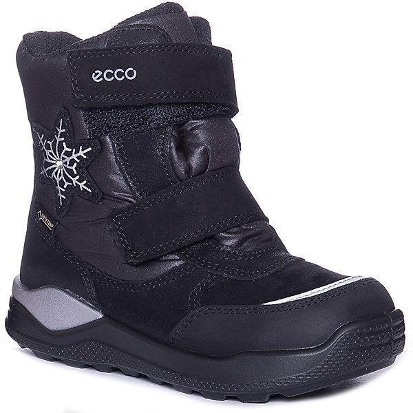 Купить Утепленные ботинки ECCO, Китай, черный, 25, 26, 30, 29, 28, 27, Унисекс