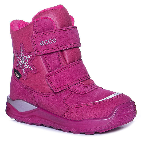Купить Утепленные ботинки ECCO, Китай, розовый, 24, 28, 30, 27, 26, 22, 23, 25, 29, Женский