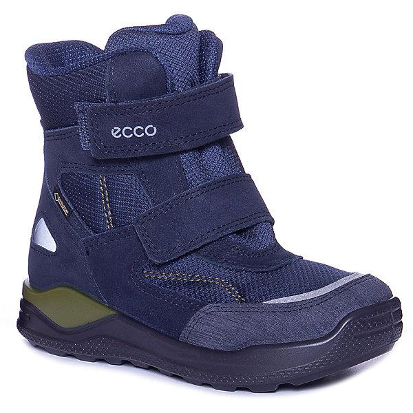 Купить Утепленные ботинки ECCO, Китай, синий, 24, 30, 29, 27, 28, 26, 25, Мужской