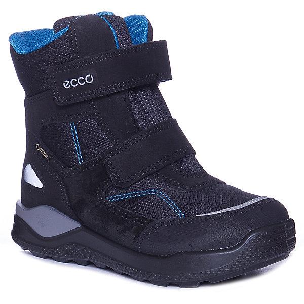 Купить Утепленные ботинки ECCO, Китай, черный, 26, 30, 29, 28, 25, 24, 27, Мужской