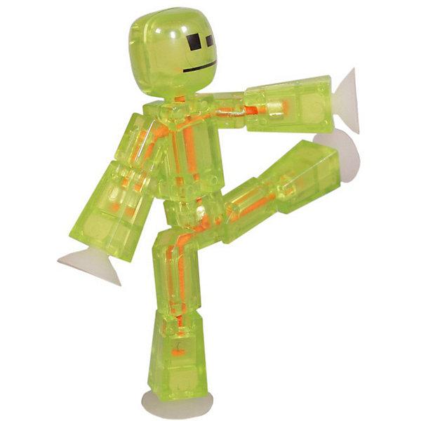 Zing Игрушка-фигурка Zing Stikbot, салатовая