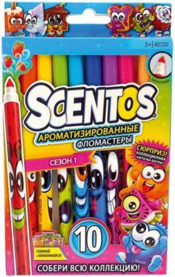 Ароматизированные тонкие фломастеры WeVeel Scentos, 10 цветов, артикул:9471512 - Письменные принадлежности