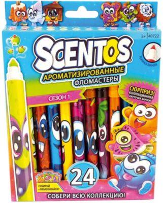 Ароматизированные тонкие фломастеры WeVeel Scentos, 24 цвета, артикул:9471516 - Письменные принадлежности