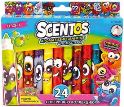 Ароматизированные фломастеры WeVeel Scentos, 24 цвета, артикул:9471524 - Письменные принадлежности