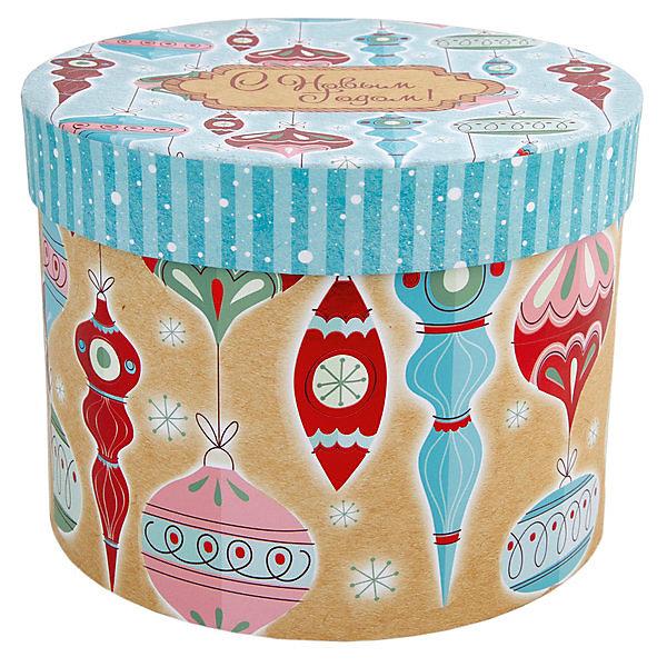Феникс-Презент Подарочная коробка Стеклянные сосульки
