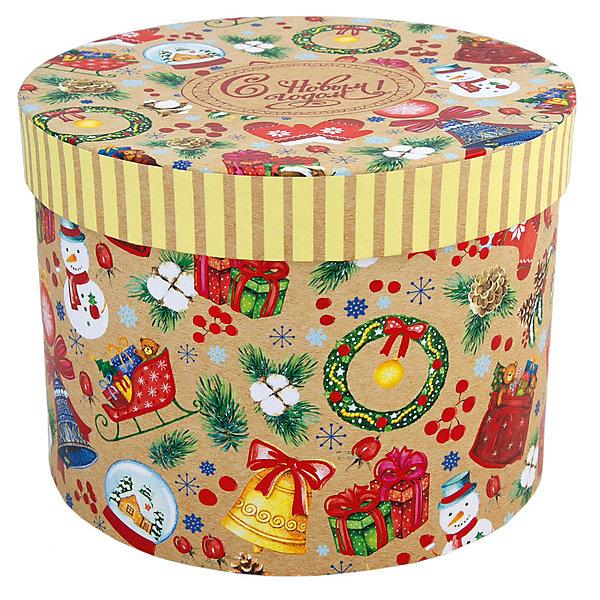 Феникс-Презент Подарочная коробка Феникс-Презент Новогодние хлопоты платье adl adl ad005ewzad66