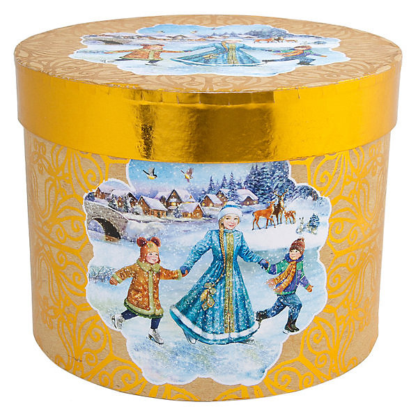 Феникс-Презент Подарочная коробка Феникс-Презент Зимние забавы зимние забавы раскраска