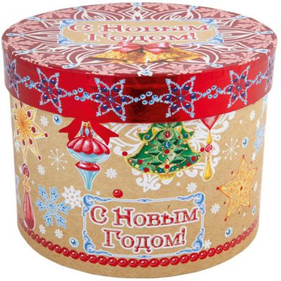"Феникс-Презент Подарочная коробка Феникс-Презент ""Новогодние колокольчики"""
